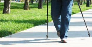 Walking people Stock Image