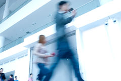 Walking people Royalty Free Stock Photo