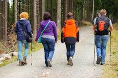 Walking people Royalty Free Stock Images