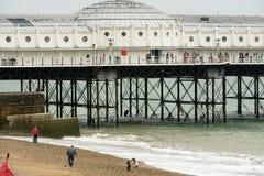Walking on the Pier, Brighton Stock Photography