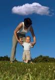 Walking Practice Royalty Free Stock Image