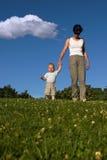 Walking Practice Royalty Free Stock Photos