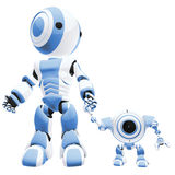 Walking Robots Stock Image