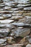 Walking on rocks Stock Images