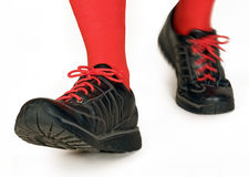 Walking shoes Royalty Free Stock Photography