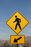 Walking Sign Stock Photography
