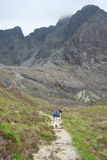 Walking in Skye Stock Image