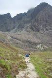 Walking in Skye Stock Image