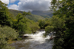 Walking in Snowdonia Stock Photos
