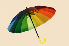 Walking-stick umbrella Royalty Free Stock Photos