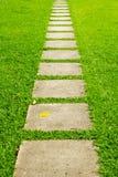 Walking stone Royalty Free Stock Images