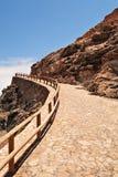 Walking stone pathway. Stock Images