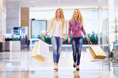 Walking in the store Stock Photos