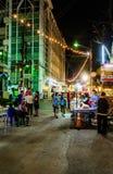 Walking street market Royalty Free Stock Image