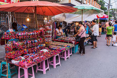 Walking street market. Stock Photography