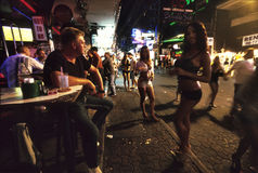 Walking Street Stock Image