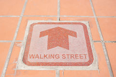 Walking Street Stock Images