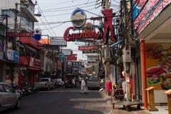 Walking Street Street in Pattaya Royalty Free Stock Image