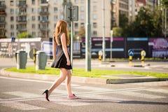 Walking street royalty free stock image