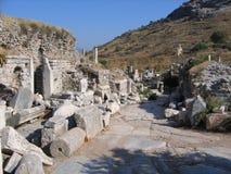 Walking the Streets of Ephesus Stock Photos