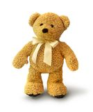 Walking teddy bear Royalty Free Stock Image