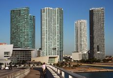 Walking To Miami Stock Images