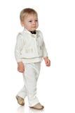 Walking toddler Stock Photo