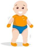 Walking Toddler Royalty Free Stock Image