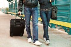 Walking together Royalty Free Stock Image