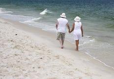 Walking Together Stock Images