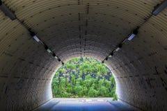Walking tunnel Royalty Free Stock Image