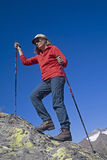 Walking uphill Royalty Free Stock Photography