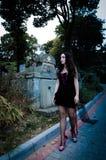 Walking vampire portrait Royalty Free Stock Photography