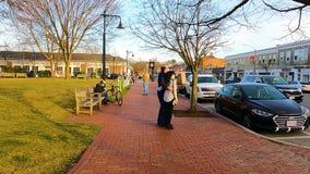 Lexington town center, Massachusetts, USA
