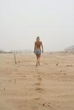 Walking woman Royalty Free Stock Image