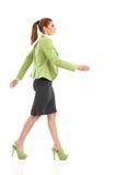 Walking woman. Royalty Free Stock Photography