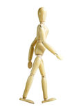 Walking Wood Puppet Stock Images