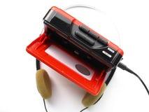 Walkman royalty-vrije stock afbeeldingen
