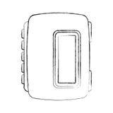 Walkman cassette player icon Stock Image