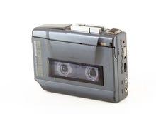 Walkman de la vendimia Imágenes de archivo libres de regalías