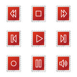 Walkman icons Royalty Free Stock Photography