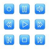 Walkman web icons Stock Images