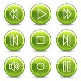Walkman web icons Stock Photos