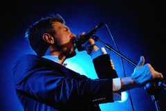 The Walkmen band performs at Bikini Royalty Free Stock Photos