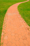 Walkway. Life is like a walkway, there is a starting point, but also end Royalty Free Stock Image