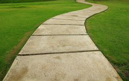 walkway Arkivfoto