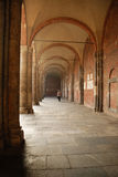 Walkway. A walkway in Milan, Italy Stock Photos