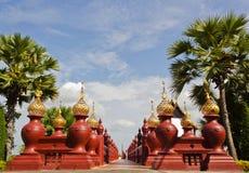 Walkway. At Royal Pavilion, Thailand Royalty Free Stock Images