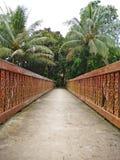 walkway Fotografering för Bildbyråer