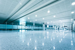 Walkway of airport Royalty Free Stock Image